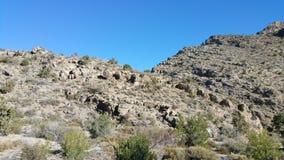 Cielo del desierto del postre Foto de archivo libre de regalías