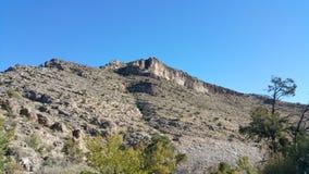 Cielo del desierto del postre Imagen de archivo