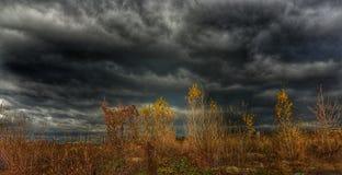 Cielo del diablo Foto de archivo