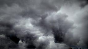 Cielo del diablo Fotografía de archivo