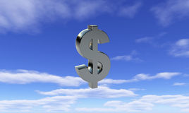 Cielo del dollaro Immagini Stock Libere da Diritti