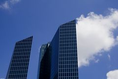 Cielo del edificio imágenes de archivo libres de regalías