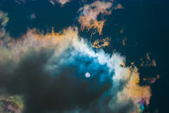 Cielo del espejo Fotos de archivo