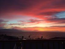 Cielo del fuego Foto de archivo libre de regalías