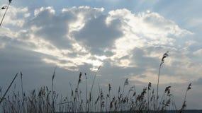 Cielo del lago Fotos de archivo