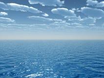 Cielo del mar Foto de archivo