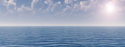 Cielo del mar Fotografía de archivo libre de regalías