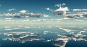 Cielo del mar Imagen de archivo libre de regalías