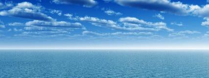 Cielo del mar Imagen de archivo