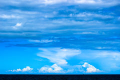 Cielo del mar Fotografía de archivo