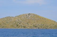 Cielo del mar de la montaña fotos de archivo