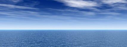 Cielo del mare Immagini Stock