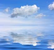 Cielo del mare Fotografie Stock Libere da Diritti