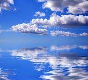 Cielo del mare illustrazione di stock