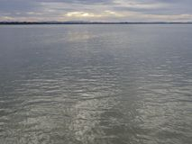 Cielo del mare calmo di mattina Immagini Stock Libere da Diritti