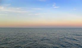 Cielo del ND del mare Fotografie Stock Libere da Diritti