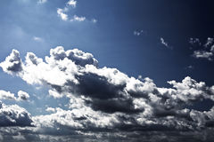 Cielo del otoño Fotos de archivo libres de regalías