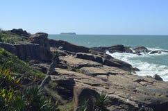 cielo del paisaje del agua del océano de la playa de la costa del ‹del †del ‹del †del mar Imagen de archivo