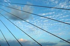 Cielo del ponticello Fotografia Stock Libera da Diritti