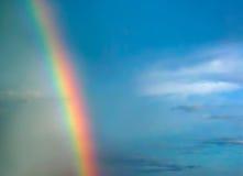 Cielo del Rainbow Immagini Stock