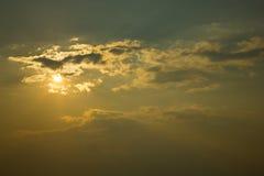 cielo del sole Immagini Stock