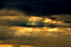 cielo del sunrisc Fotos de archivo