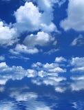 Cielo del verano imagenes de archivo