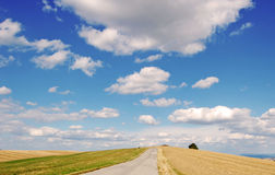 Cielo del verano Fotografía de archivo