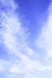 cielo del verano Foto de archivo