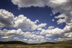 Cielo 2 del Wyoming fotografia stock libera da diritti