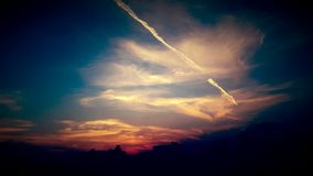 Cielo dell'annata Fotografie Stock Libere da Diritti