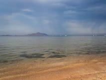 Cielo dell'annuvolamento sopra il Mar Rosso fotografia stock libera da diritti