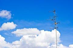 Cielo dell'antenna Immagini Stock Libere da Diritti