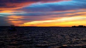 Cielo dell'arcobaleno immagini stock