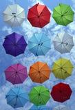 Cielo dell'ombrello Fotografie Stock Libere da Diritti
