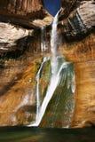 Cielo della cascata Fotografia Stock