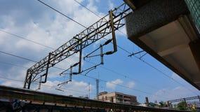 Cielo della ferrovia Immagini Stock Libere da Diritti