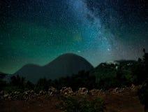 Cielo della galassia fotografie stock