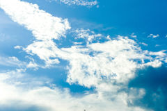 Cielo della nuvola Fotografie Stock