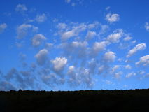 Cielo della primavera Immagine Stock