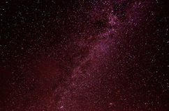 Cielo della stella Immagine Stock