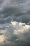 Cielo della tempesta Fotografia Stock Libera da Diritti