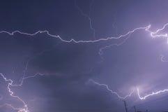 Cielo delle nuvole di temporale Fotografia Stock Libera da Diritti