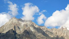 Cielo delle nuvole di Timelapse video d archivio