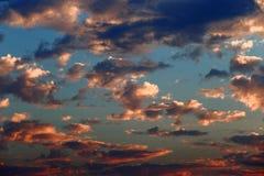 Cielo después de la lluvia Fotos de archivo