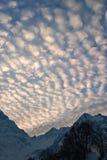 Cielo di Alpen Fotografie Stock