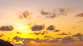 Cielo di Anse Lazio Seychelles archivi video