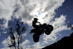 Cielo di ATV fotografie stock libere da diritti