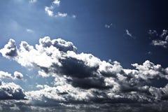 Cielo di autunno Fotografie Stock Libere da Diritti