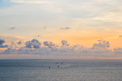 Cielo di Beautyful nel tramonto Immagine Stock Libera da Diritti